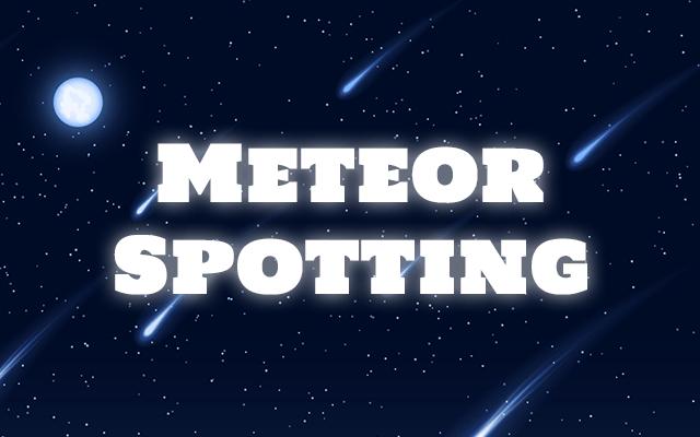 Meteor spotting Chrome extension